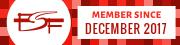 FSF member button